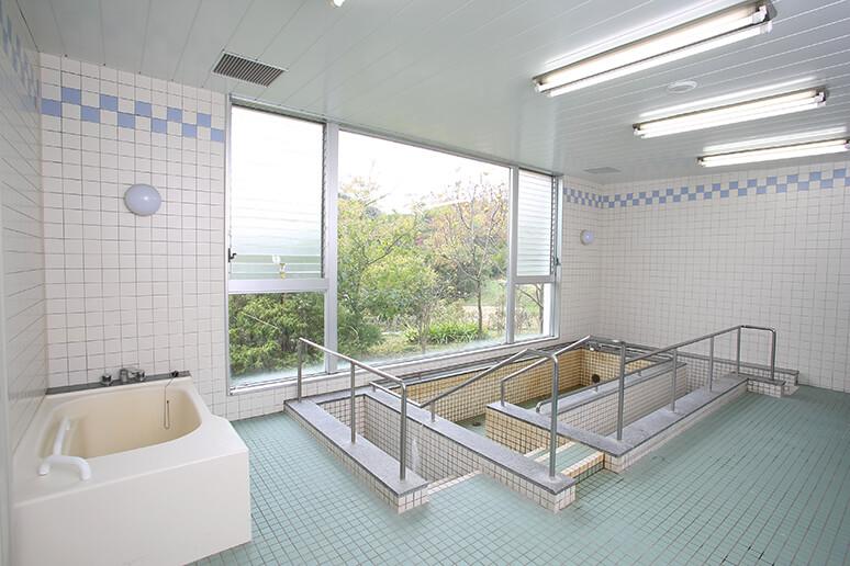 認知症治療病棟の展望浴室