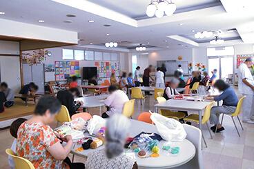 入院患者活動風景
